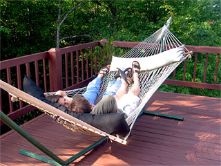 Iron Mountain Inn Bed and Breakfast - Two Person Hammock