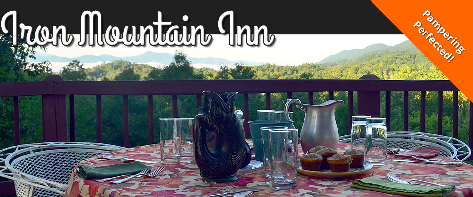 Iron Mountain Inn Bed and Breakfast - Watauga Lake - Bristol TN - Johnson City TN - Boone NC